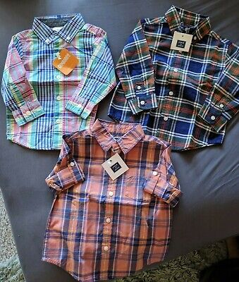 NEW! JANIE AND JACK BABY TODDLER BOY 12-18Mo- Lot of 3 Bundle Tops Shirts- BNWT!