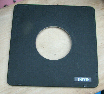 Toyo Monorail 10x8 5x4 lens board 65mm hole for copal 3
