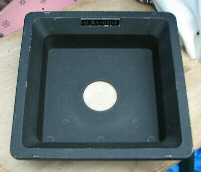 Toyo Monorail 40mm recessed 10x8 5x4 lens board 34.6mm hole for copal 0