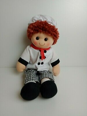 Hopscotch Collectibles - 35Cm Rag Doll Jamie Chef Outfit  - Brand New With Tags