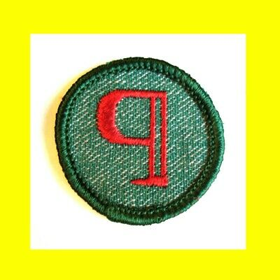 LOCAL LORE JUNIOR Girl Scouts World of PEOPLE badge