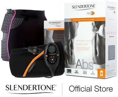 Slendertone Abs7 Abs Toning Belt And Bottom Toning Garments - Rrp £210  Save 33%