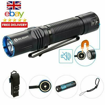 Olight® M2R Warrior Rechargeable Tactical 18650 Torch 1500 Lumens Powerful Dual