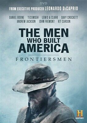 THE MEN WHO BUILT AMERICA FRONTIERSMEN New DVD History Channel