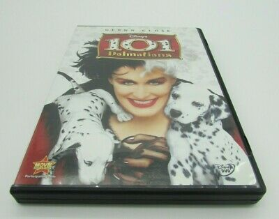 101 Dalmatians (DVD, 2008) Live Action Glenn Close Good Condition Used Disney