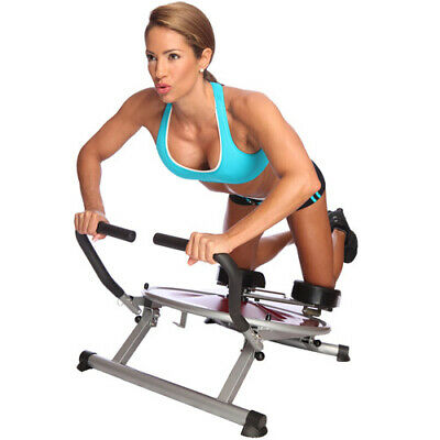 AB Circle Pro Machine Core Home Exercise Fitness Weight Loss Abs DVD Included