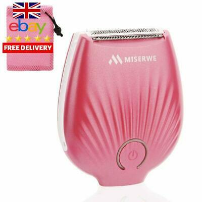 Miserwe Hair Removal Mini Ip4X Waterproof Rechargeable Cordless Lady Shaver Wet