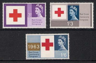 GB 1963 Commemorative Stamps~Red Cross~Unmounted Mint Set~UK Seller
