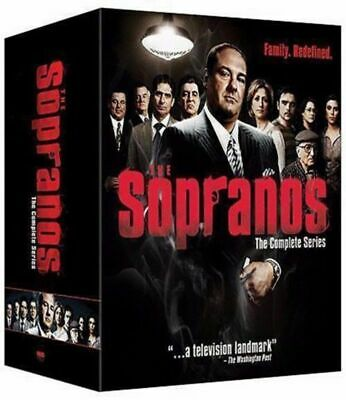 The Sopranos: The Complete Series Seasons 1-6 (DVD, 2014, 30-Disc Box Set) NEW