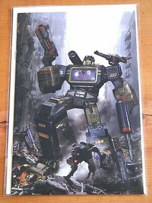 Transformers #2 John Gallagher Virgin Variant Limited To Only 600 Worldwide