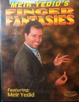 AWESOME MAGIC- make your fingers disappear! Dvd video Mr Yedid- Sealed brand new