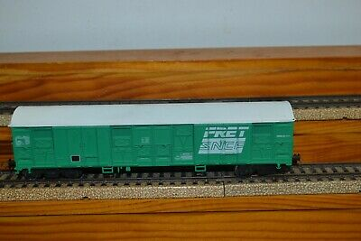 wagon  couvert  ref  6533   FRET   SNCF        192 mm
