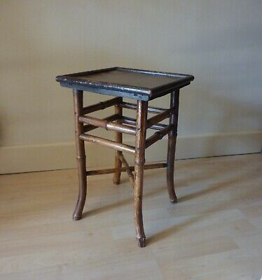 Antique Bamboo Table/stool