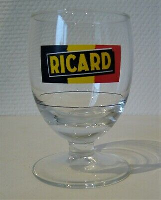RICARD, verre ballon, 17cl, logo, trait dose. Excellent état.