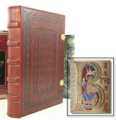 St Alban's Psalter Illuminated Codex  - Ultra Rare Facsimile