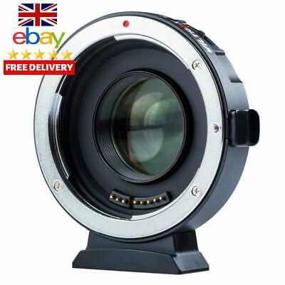 Viltrox Ef-M2 Ii Electronic Auto Focus 0.71X Reducer Speed Booster Lens Mount Ad