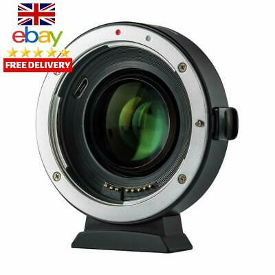Viltrox Ef-Eos M2 Electronic Auto Focus 0.71X Focal Reducer Speed Booster Lens M