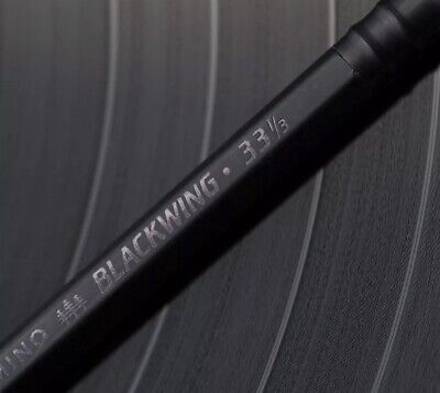 Blackwing Vol. 33 1/3 Pencil...Black on black., Limited Edition. 1 Pencil