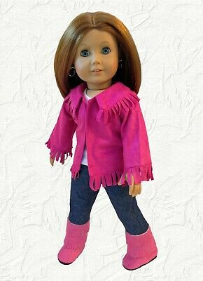 08c9a2b8d71db PINK COWGIRL OUTFIT fits American Girl 18