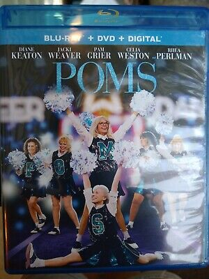 Poms on Blu-ray DVD digital