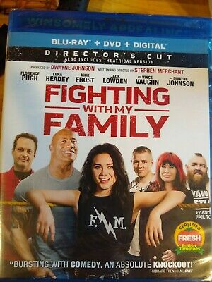 Fighting with my family Blu-ray DVD digital
