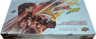 Upper Deck 2018 Marvel Ant-Man & The Wasp Sealed Trading Card Hobby Box