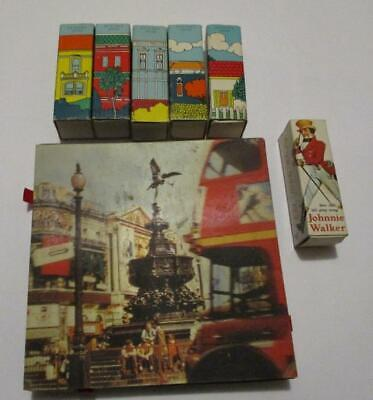 X 7 Assorted Vintage MATCHES -MATCHBOXES Made in Japan
