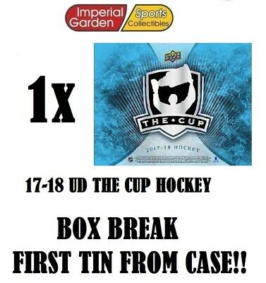 SINGLE * 17-18 * UD THE CUP HOCKEY Box Break #2072- Vancouver Canucks