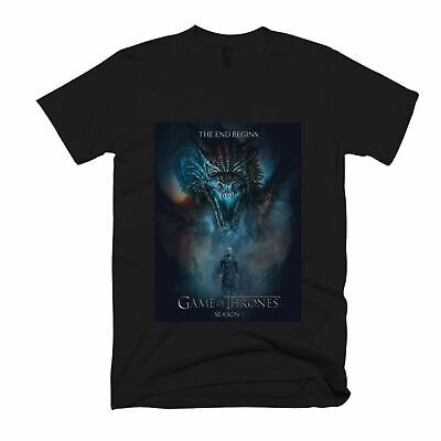 New Game Of Thrones The End Begins Men's / Women's T-Shirt Usa Size S-3Xl Fq1