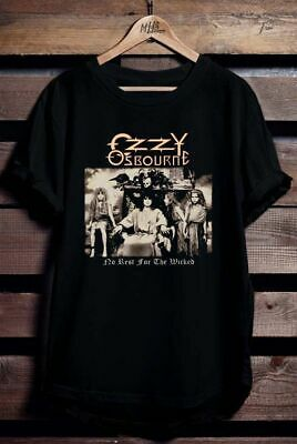 New Ozzy Osbourne No Rest For The Wicked T-Shirt Usa Size S M L Xl 2Xl 3Xl Fq1