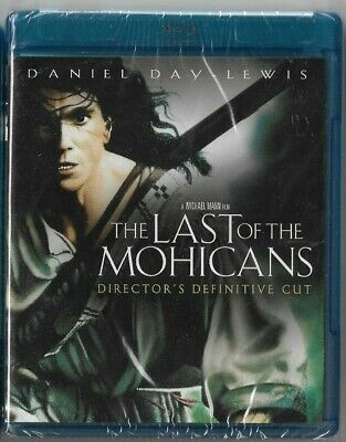 Sealed New Blu-Ray Disc - THE LAST OF THE MOHICANS - Director's Definitive Cut