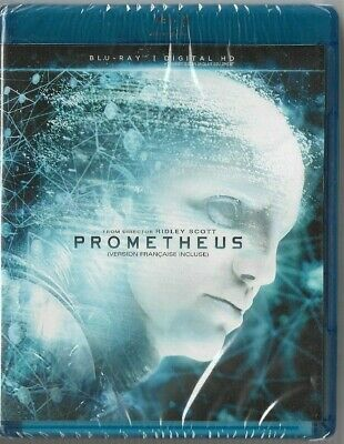 Sealed New Blu-Ray Disc - PROMETHEUS - Also In French