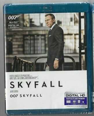 Sealed New Blu-Ray Disc - JAMES BOND 007 - SKYFALL - Also In French