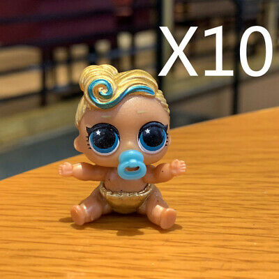 LOT 10 PCS Lol Surprise L.O.L. 24k queen LUXE series lil dolls TOY GIFT