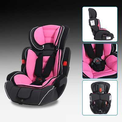 3in1 Convertible Child Baby Car Seat Safety Booster Group 1/2/3 9-36 kg