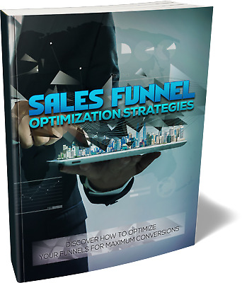 Learn The Latest Sales Funnel Optimization Strategies! For Maximum Income (CD)