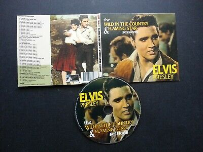 Elvis Presley - The Wild in the country & Flaming star sessions -  CD 41 TRKS