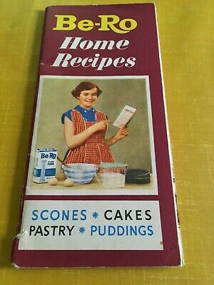BE-RO Home Recipes 26th Million Edition Pastry Cookery Baking Book Vintage Cook