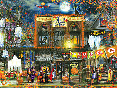 FALL FESTIVAL 500 PIECE JIGSAW PUZZLE by SUNSOUT ~ BRAND NEW