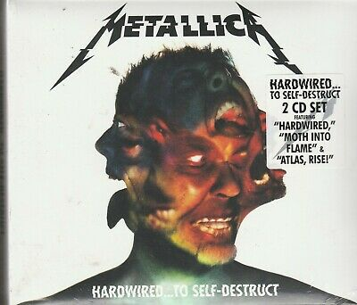 Hardwired...To Self-Destruct [Digipak] by Metallica (CD, Nov-2016, 2 Discs,...