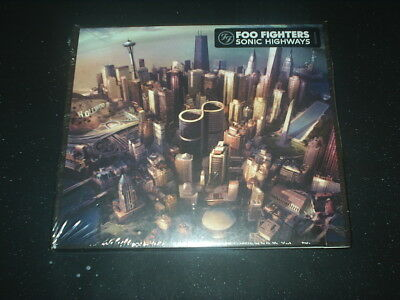 FOO FIGHTERS CD Album SONIC HIGHWAYS Orig 8 trax 2014 NEW, SEALED Condition