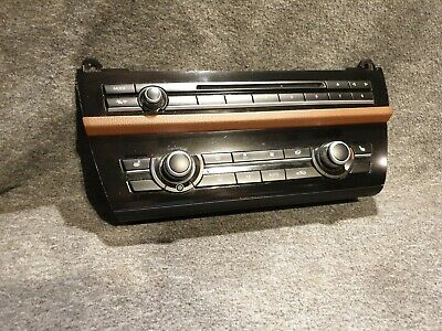 Bmw F10 F11 Climate Control Air Condition Heated Seats Panel Radio Butt 9306149
