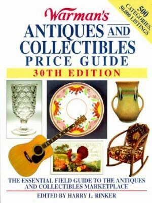 Warman's Antiques and Collectibles Price Guide, 30th Edition (1996, Paperback)