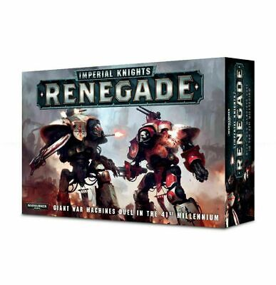 Warhammer 40K Imperial Knights Renegade Box Set Factory Sealed New