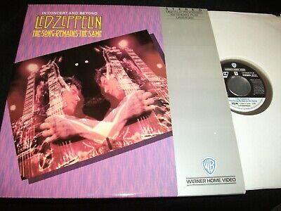 "LED ZEPPELIN<>THE SONG REMAINS THE SAME<>2X12"" Laserdiscs<>WB 11389 A/B"