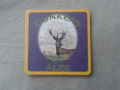 2006 DUNKERY ALES BREWERY EXFORD – BEER MAT BBCS No. 1