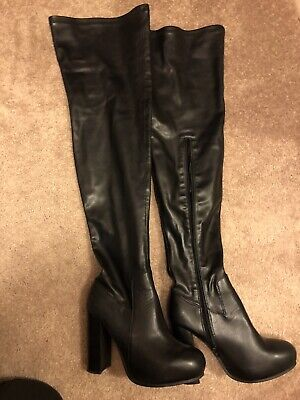4275f42dc9b JEFFREY CAMPBELL KNEE High Boots - $50.00 | PicClick