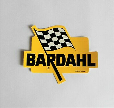 Bardahl Additives And Lubricants Sticker Decal Nascar Nhra Nos Free Shipping!