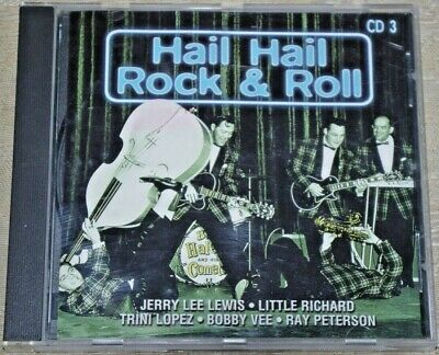 CD - Hail Hail Rock & Roll CD3 - compilation of greats late 50s early 60s