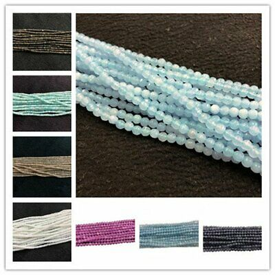 Multiple Choice Colorful Chalcedony Agate Loose Beads 3,2x3.5mm/15.5inch AE5477